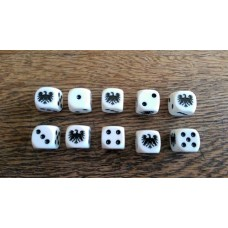 Napoleonic Dice - Prussian Eagle Dice