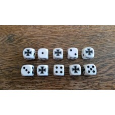 Napoleonic Dice - Prussian Cross Dice