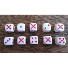Napoleonic Dice - Spanish Cross Dice