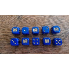 Napoleonic Dice - French Napoleonic Eagle Dice
