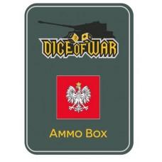Napoleonic Dice - Duchy of Warsaw Dice & Tin Set