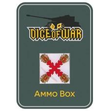 Napoleonic Dice - Spanish Cross Dice & Tin Set