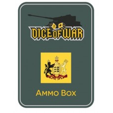 Napoleonic Dice - Wurttemburg Crest Dice & Tin Set
