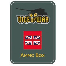 British Union Jack Ammo Box - Dice Tin
