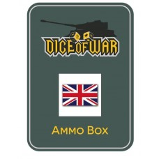 Napoleonic Dice -  Alternate British Union Jack Dice & Tin Set