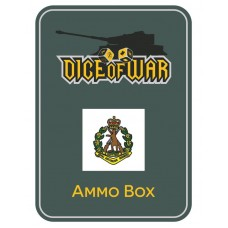WWIII - Australian 1st RAR - Dice & Tin Set