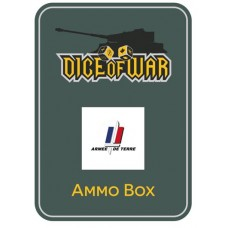 WWIII - French Armee de Terre - Dice & Tin Set