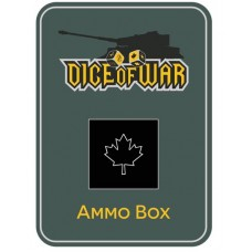 WWIII - CANADA BLACK - Dice & Tin Set