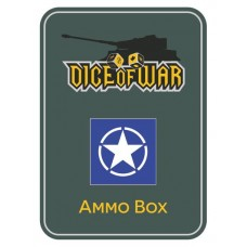 WWIII - Blue Allied Star Dice Tin