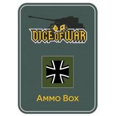 WWIII - Bundeswehr Green Dice Tin