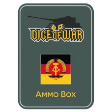 WWIII - DDR East German - Dice & Tin Set