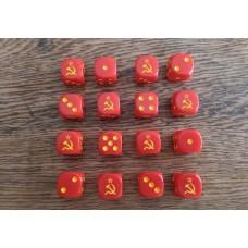 WWIII Dice - USSR Dice