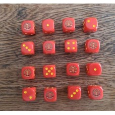 WWIII Dice - East German DDR Dice