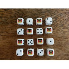 WWIII Dice - West German Flag Dice
