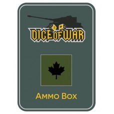 WWIII - CANADA OLIVE - Dice & Tin Set