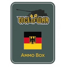 WWIII - West German Flag Dice & Tin Set